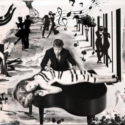 photo painting the pianist Christina Noélle web
