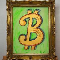 Bitcoin Canvas Christina Noélle web