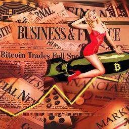 Bitcoin Trades Full Speed Ahead_Christina Noélle web